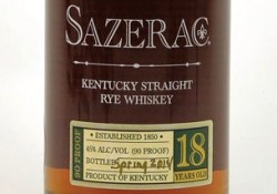 Review: 2014 Sazerac 18 Year Image