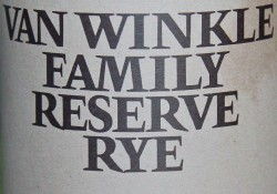 Review: 2015 Van Winkle Family Reserve Rye Image