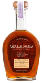 Abraham Bowman Limited Edition High Rye
