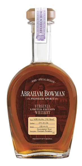 Abraham Bowman Limited Edition Rye Cask Strength TPS