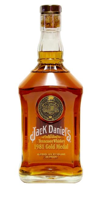 Jack Daniel's Gold Medal Replica 1981
