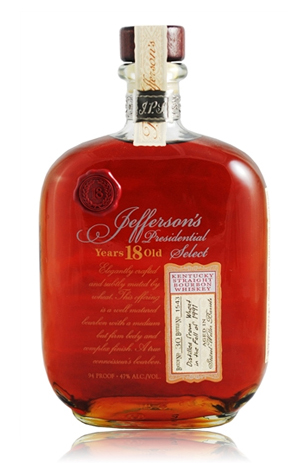 Jefferson's Presidential Select 18yr