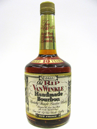 Old Rip Van Winkle 10yr Squat Bottle