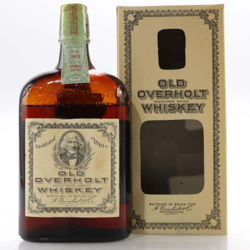 Prohibition Old Overholt Rye